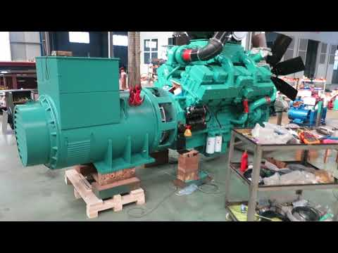 Haifeng Machinery Manufacturing | Unpacking Cummins Engine From CCEC