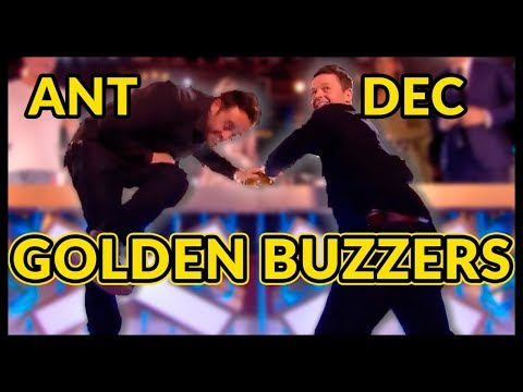Top 10 ANT and DEC 's GOLDEN BUZZERS and BEST MOMENTS EVER!