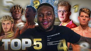 MY TOP 5 YOUTUBE BOXERS (IN ORDER) !!!