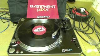 "Basement Jaxx ‎-- Red Alert (Vinyl) (12"" Club Mix)"