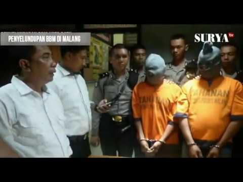 PENYELUNDUPN BBM MARAK DI KABUPATEN MALANG, AWAK TRUK TANGKI DI TANGKAP POLISI