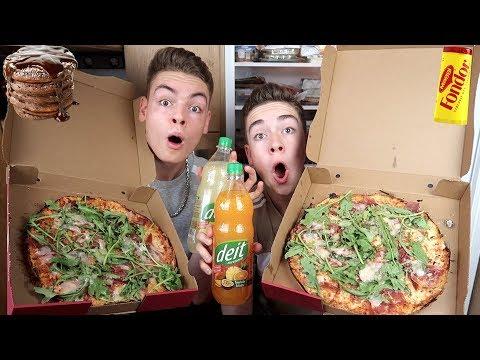 Wir essen 1 Tag lang wie NICO LIFESTYLE (mit Pizza Serrano)