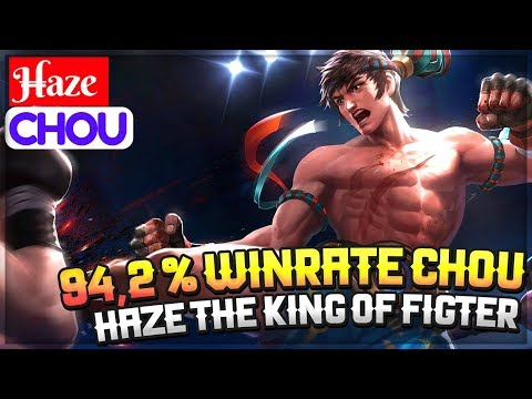 94,2 % Winrate Chou, Haze The King of Fighter [ Top Global 9 Chou ] H̶aze Chou Gameplay And Build