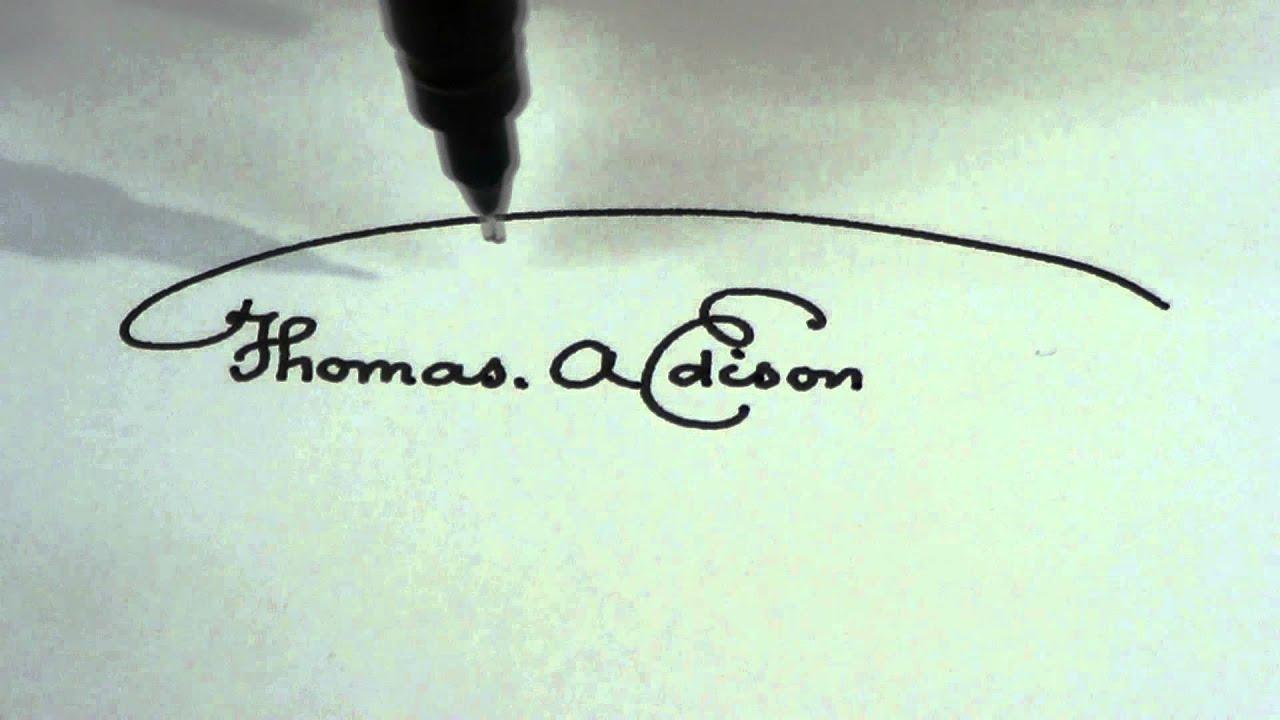 AxiDraw® - writing signatures