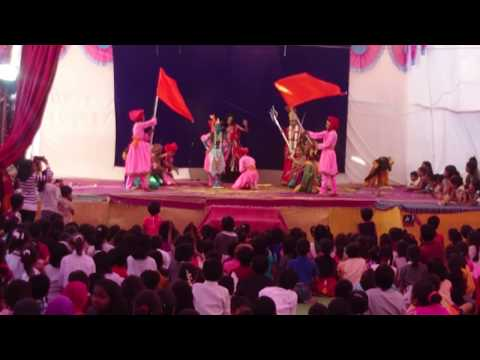 Nadichya palyad aaicha dongar.. performed by AL Waghmare primary school Umred