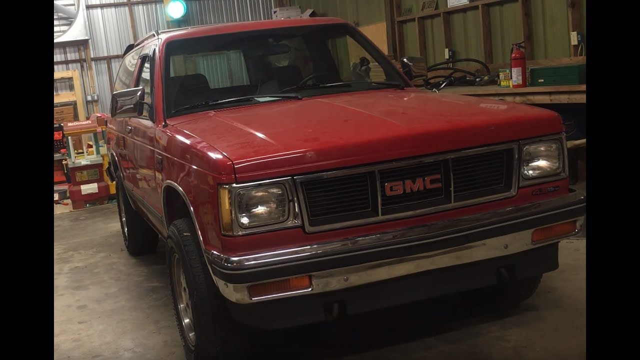 The one family 1988 GMC S15 Jimmy 4x4 gets a new Remy International 96206  starter motor