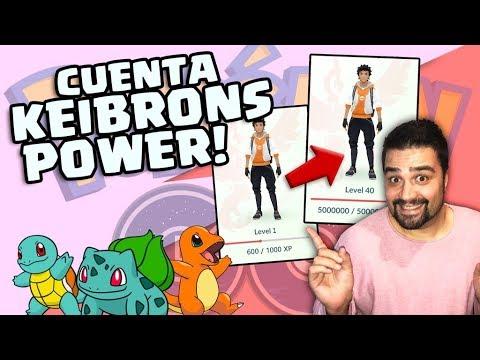 Subimos de nivel 1 al 40 la cuenta #KeibronsPower en Pokémon GO!? [Keibron]