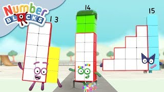 Numberblocks - Teen Numbers   Learn to Count