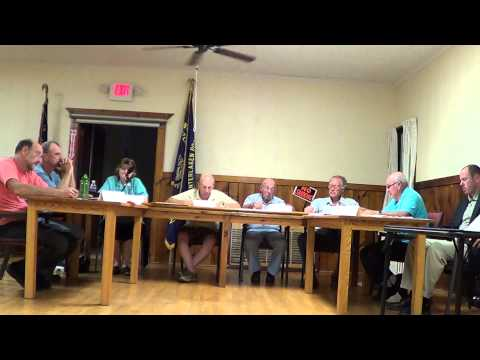 Covert Town Board Meeting - July 14, 2014 - Part 3 of 5