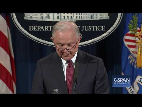 """AG Sessions: """"The program known as DACA...is being rescinded."""" FULL STATEMENT (C-SPAN)"""