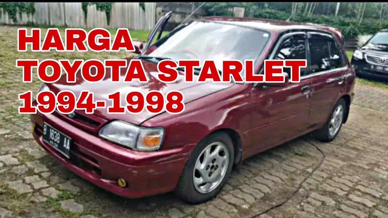 Kelebihan Harga Toyota Starlet Harga