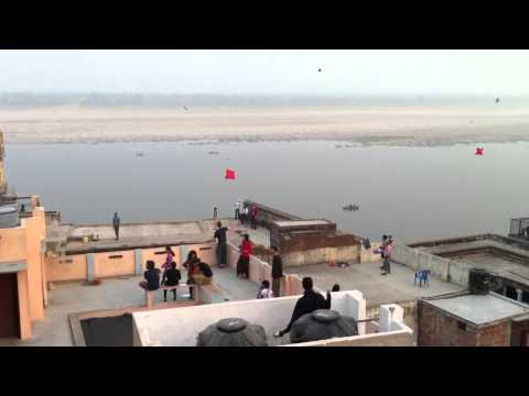 Varanasi, India - Kite Festival 2013