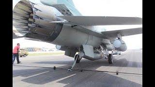 "Beginilah Jurus F-16 Fighting Falcon Menggunakan ""Arresting Cable"""