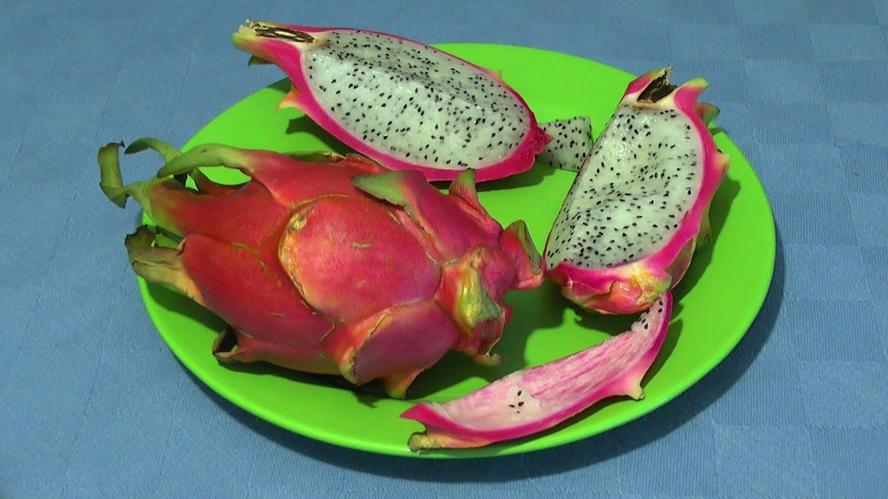 dragonfruit drachenfrucht test essen youtube. Black Bedroom Furniture Sets. Home Design Ideas