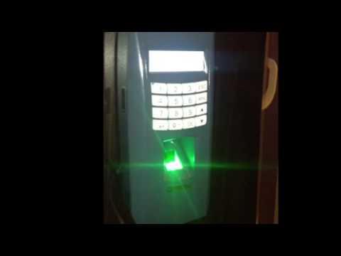 Biometrics fingerprint system with door access integration