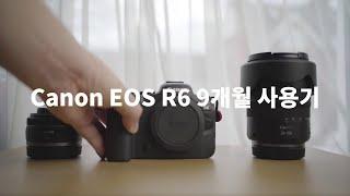 캐논 r6 미러리스 카메라 사용기 리뷰 장점과 단점들