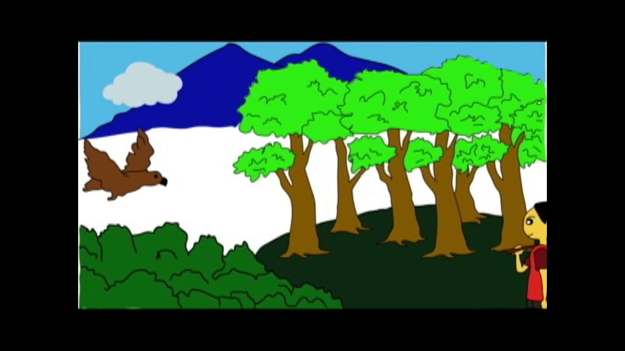 53+ Gambar Alam Animasi HD