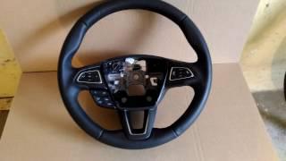 Руль Форд фокус 3 рестайл с круизом