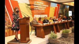 Preside Gobernadora LIX Reunión Nacional de Contralores Estado-Federación