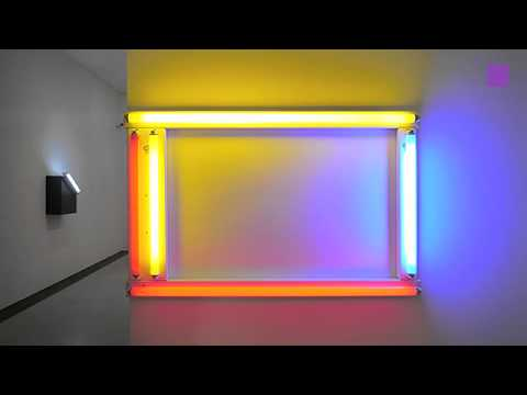 theartVIEw - Dan Flavin Lights at mumok