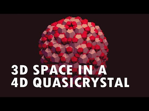 3D Space in a 4D Quasicrystal