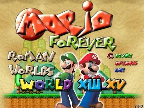 Mario Forever Roman Worlds v3.0 by MrPrzemistrz Worlds XIII-XV