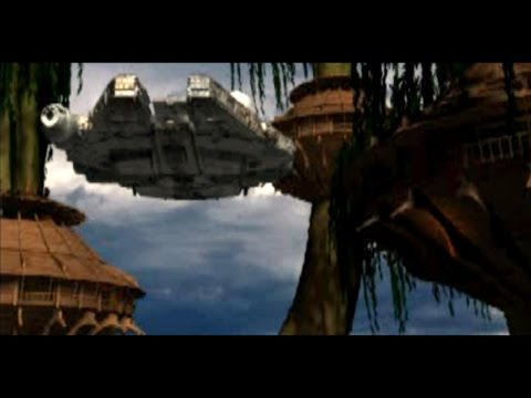 Star Wars Masters of Teras Kasi PS1 (FMV Endings) All Characters HD