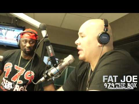 Fat Joe Goes All The Way Up With 97.9 The Box