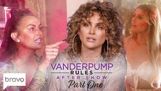 Lala Loses It When Raquel Brings Up Her Dad | Vanderpump Rules After Show (S7 Ep15) Part 1
