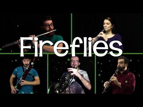 Fireflies - Wind Quintet Cover