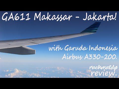 On Board with The Widebody Aircraft! • Garuda Indonesia GA611 Flight Review (UPG-CGK)