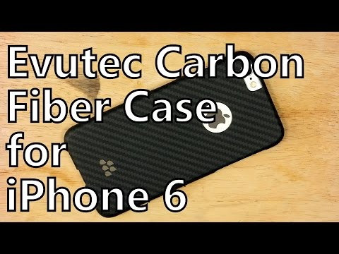 Smartphone Case Review: Evutec Karbon S - Carbon Fiber Protection for iPhone 6