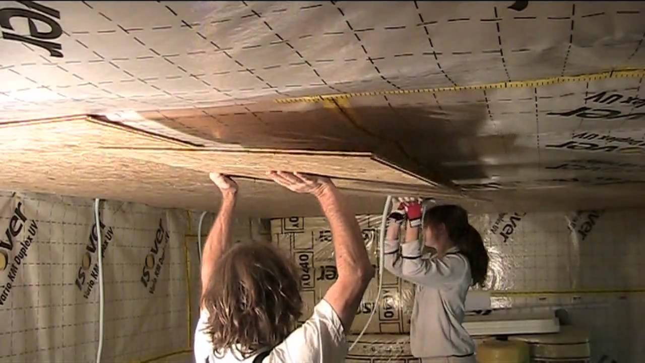 Build Your Own Studio Part 5 Osb Walls And Ceiling Youtube