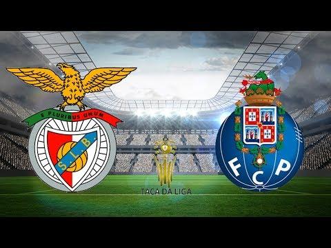 🔴 SL BENFICA 1-3 FC PORTO (EM DIRETO) - Taça da Liga Meia-Final ... 48f0081dddda9