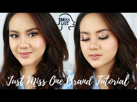 produk-dibawah-40rb---just-miss-one-brand-makeup-tutorial