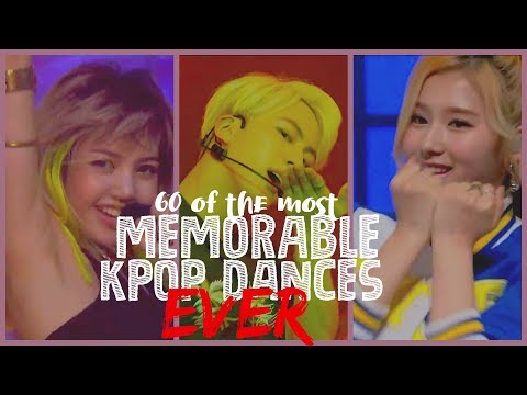 60 of the Most Memorable KPop Dances EVER