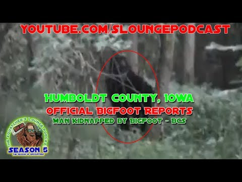 Bigfoot Kidnaps Man - Iowa Bigfoot Encounters - SLP528