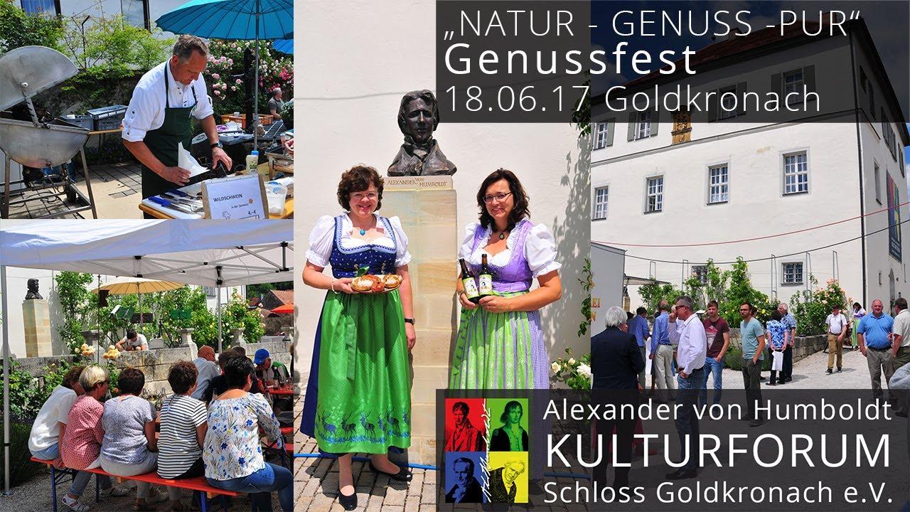Natur Genuss Pur Genussfest Am 18 Juni 2017 In Goldkronach