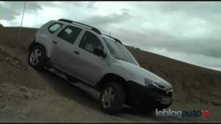 Essai Dacia Duster - Test 2010