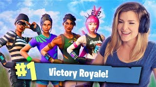 EZ SQUAD WIN! ft. Valkyrae, xChocoBars & Fedmyster (Fortnite: Battle Royale Gameplay) | KittyPlays