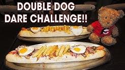 DOUBLE DOG DARE HOT DOG CHALLENGE!! (x2)