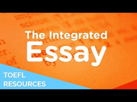 Toefl ibt integrated writing sample essays