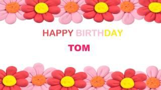 Tom   Birthday Postcards & Postales - Happy Birthday