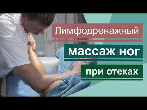 Тяжесть и усталость в ногах? Лимфодренажный массаж ног. Lymphatic Drainage Massage