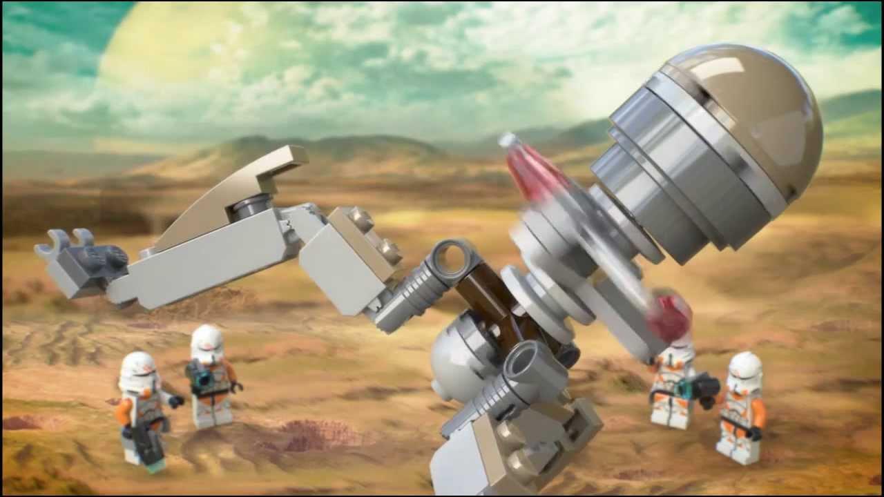 Lego Star Wars | 75036 | Utapau Troopers | Lego 3D Review ...