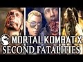 Mortal Kombat X: Alternate Fatalities! MKX: Secret, Second Fatality - Every Character! MK: HD 60fps!