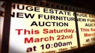 Huge Las Vegas Estate & New Furniture Public Auction (3/22/14)