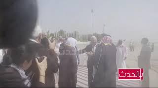 استقبال محمد بن سلمان لوزير الخارجية الأمريكي
