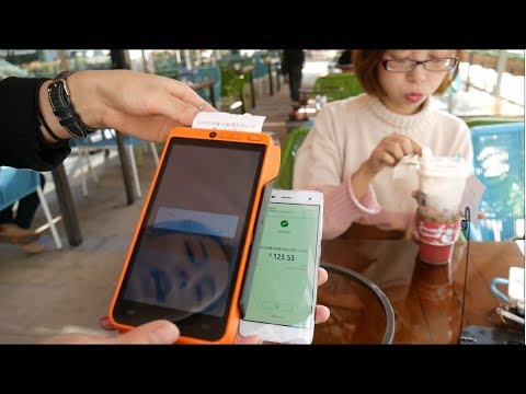 Cashless China?! One Day Without ANY CASH! [SamiLuo Vlog 36]