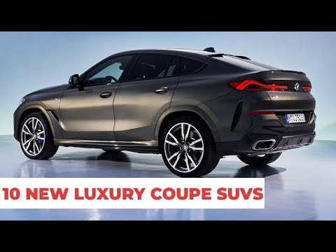10 New Luxury Coupe SUVs Upcoming in 2020